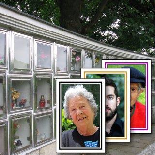 Foto pro kolumbária a hřbitovy
